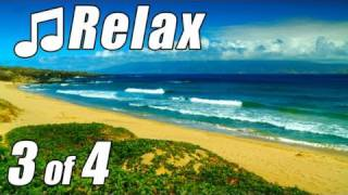 HAWAIIAN MUSIC 3 HD MAUI BEACHES Relaxing Slack Key Guitar Instrumental Hawaii Songs Island Luau