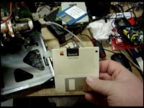 Macintosh 512k repair and boot