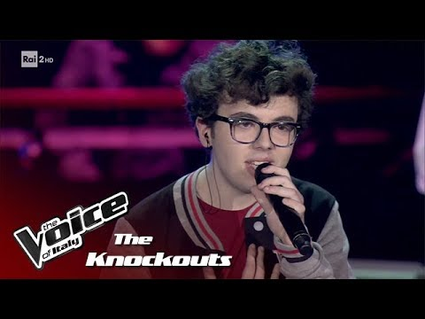 """Andrea Tramacere """"I Believe In A Thing Called Love"""" - Knockouts - The Voice of Italy 2018"""