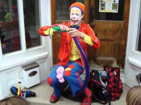 Hiccup the Clown - Variety: Show (Juggling, Unicycle ...