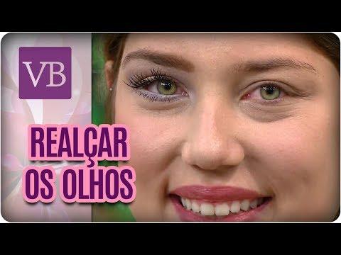 Como Realçar Os Olhos - Você Bonita (06/07/17)