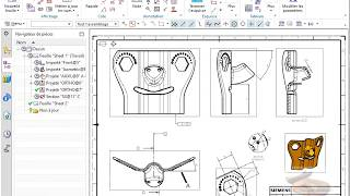 Gambar cover PMI from sketch on drawing in NX11