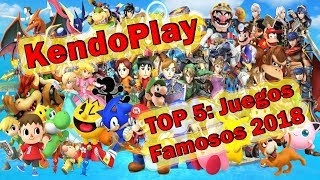 Top Juegos Mas Jugados 2018