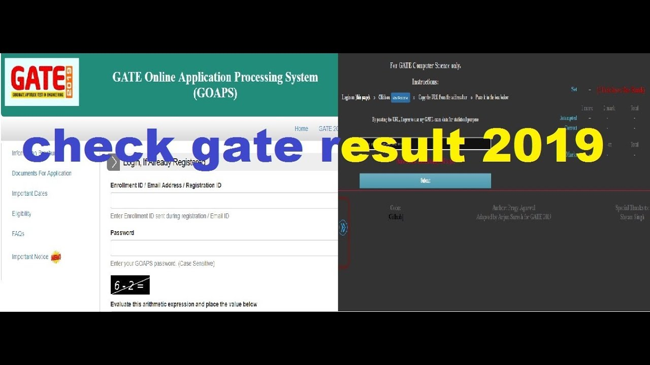 Gate 2019 Result Photo: How To Check Gate Result 2019