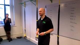 Suspension Training At Lia Belfast