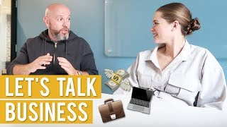 HOW TO BECOME AN ENTREPRENEUR   Business Talk ft. Gary Lipovetsky