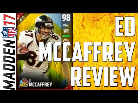 98 Overall Easter Ed McCaffrey Review - Madden 17 Ultimate Team