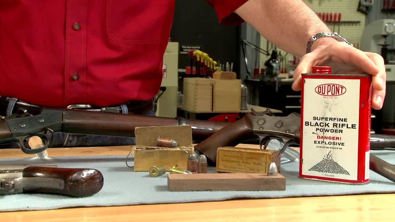 Reloading - Altering a 50 Caliber Bullet Mold Presented by Larry  Potterfield of MidwayUSA