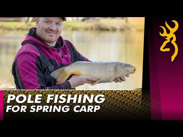 Pole Fishing for Carp : Improve your Pole Fishing