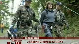 Democracy Now! - 7/10/09 - 27 Arrested For Erecting Anti-Logging Blockade in Oregon (part 1 of 1)