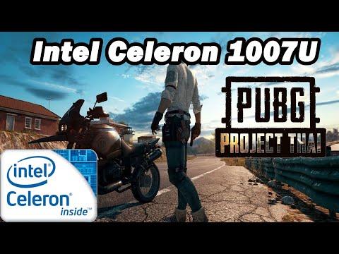 Intel Celeron 1007U \ PUBG Lite @720p 80% Res.scale Very Low Settings (1,5GHz CPU) (4GB RAM)