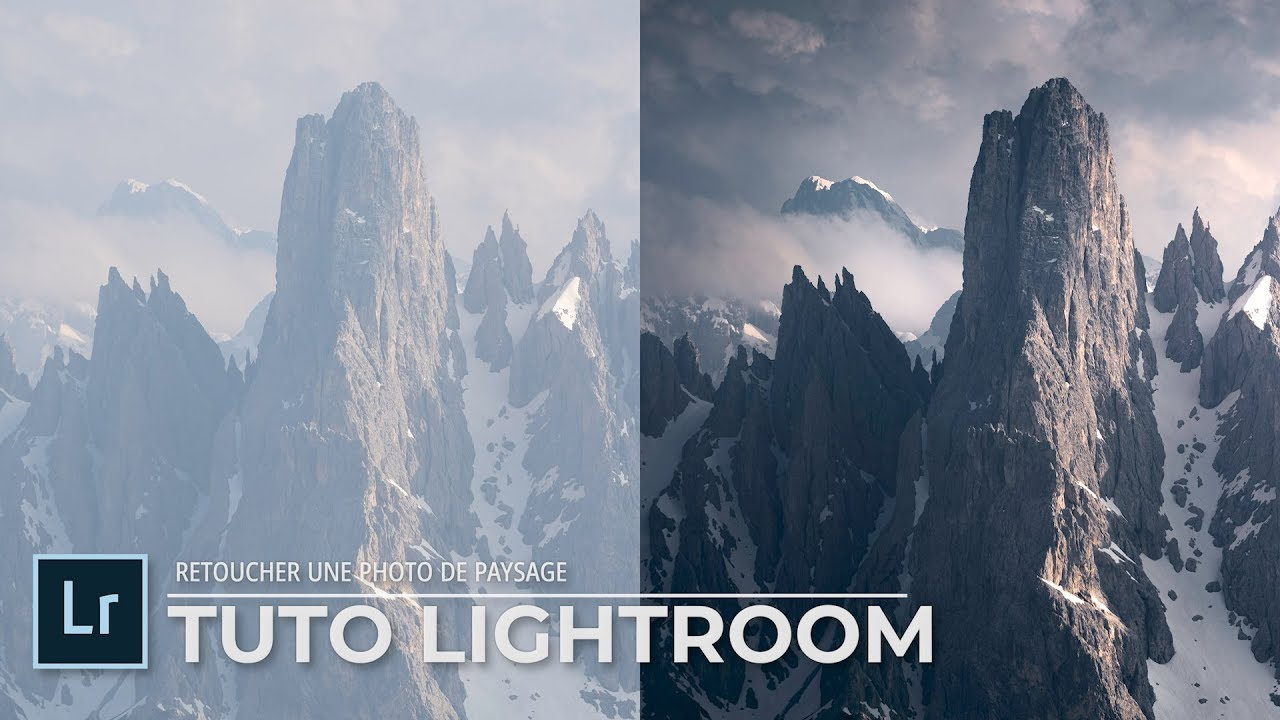 TUTO Lightroom : Retoucher une photo de PAYSAGE (Les Dolomites)