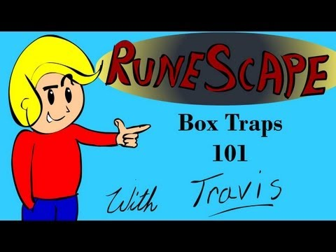 Runescape Tips For Fast Hunting Exp Per Hour  -Box Traps 101-