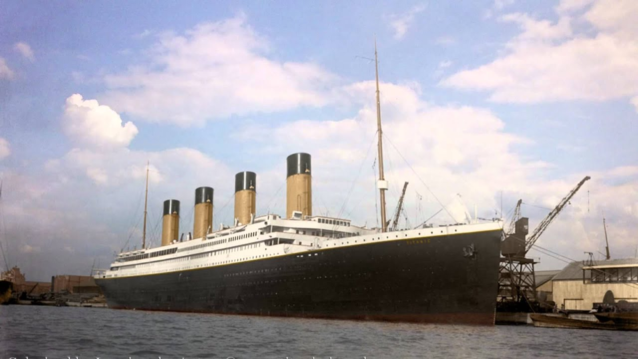 Titanic In Color A Timetravel The Way To 1912 Youtube
