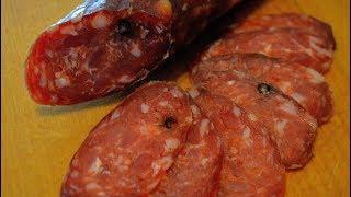 Колбаса домашняя сыровяленая чесночная