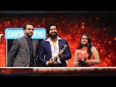 Rocking Star Yash Full Speech In SIIMA Award Best Actor In Kannada