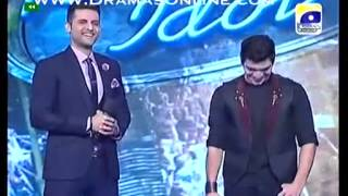 Masti ke din - Mohammad Shoaib shocked Ali Zafar Pakistan Idol