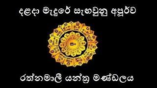 Rathnamali Gatha with Sinhala meaning෴ රත්නමාලී ගාථා෴