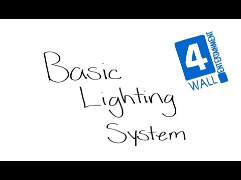 Lighting 101 Series - Part 1: Basic Lighting System