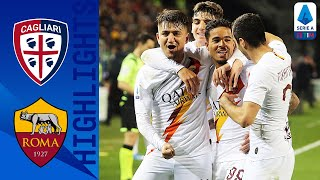 Cagliari 3-4 Roma | Nikola Kalinic scores twice in 7-Goal Thriller! | Serie A TIM