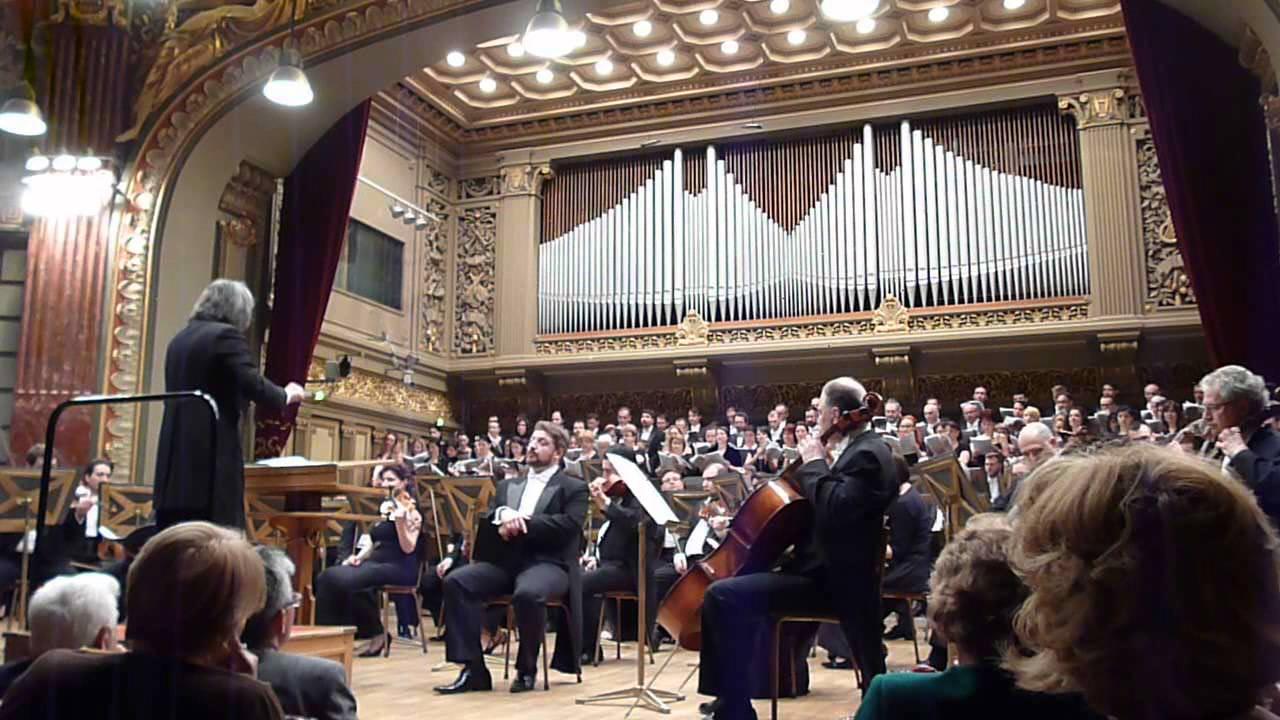 Giacomo Puccini-Missa Da Gloria-Bucuresti,Ateneul Roman, 01 mai 2015