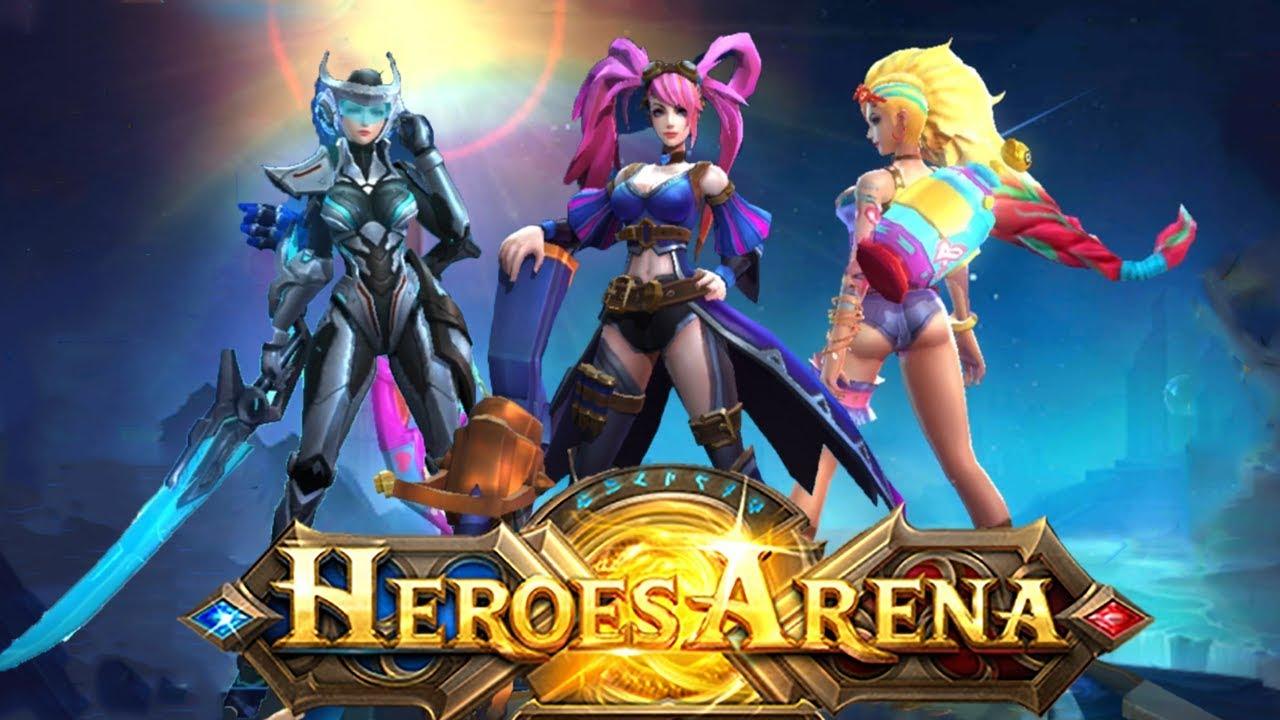 Heroes Arena All Hero Hd Youtube