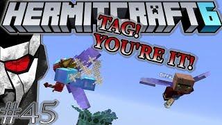 Hermitcraft VI - Warren Buffett's Game of Tag! - Let's play Minecraft 1.13 - Episode 45