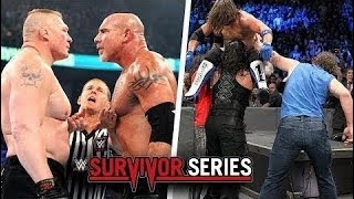 WWE Survivor Series 2016 Highlights