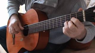 Ashokan Farewell for Classical Guitar