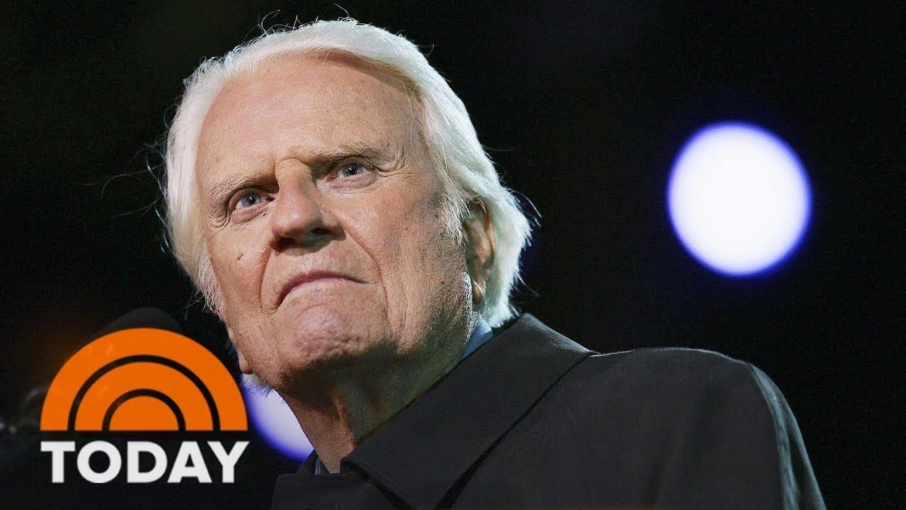 Evangelist Preacher Billy Graham Has Died At Age 99 ...