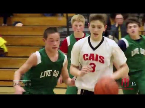 Basketball 2016 KouRosh Kahn       CAIS  vrs.  LIVE OAK Chinese American International School