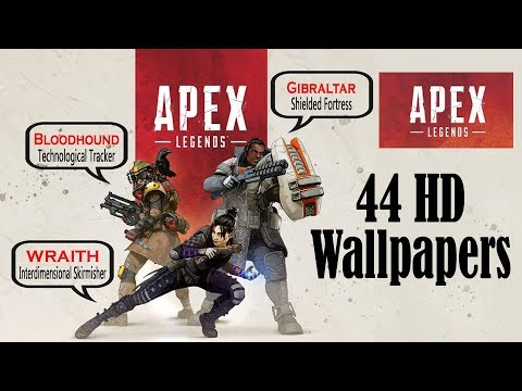 Apex Legends Wallpaper Apex Legends All Characters Wallpapers In