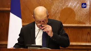عمّان وباريس تدعمان حل الدولتين ويدعوان لحل سلمي للأزمة السورية