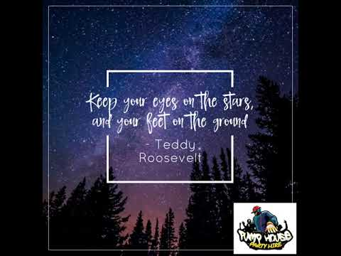 Keep your eyes on the stars, and your feet...