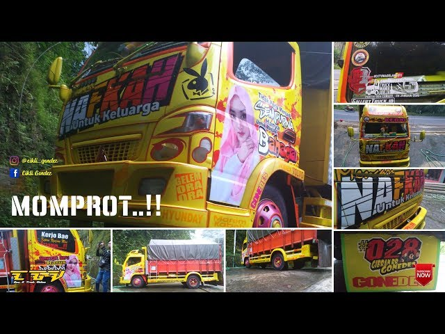 NAFKAH - TRUCK CAKEP LIFESTYLE    By GONEDES ZONE ART    Gallery Truck Purworejo V4    HD