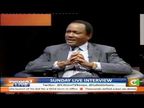 Sunday Live Interview with Stephen Kalonzo Musyoka