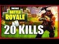 20 KILLS ON AURAIT PU EN FAIRE 25 | FORTNITE BATTLE ROYALE Fr