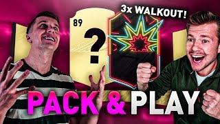 HIT! 3x WALKOUT w PACK & PLAY na OTW ft. KOZA! FIFA 20 Ultimate Team