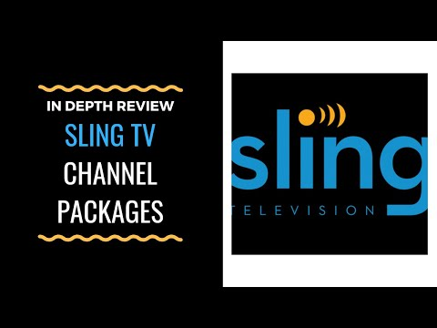 Sling TV Channel Packages - What's Available, How To CUSTOMIZE Channel Packages, And More Tips!