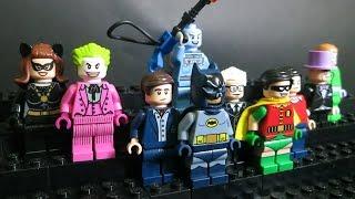 Lego 76052 + 30603 DC Comics Superheroes Batman Classic TV Series Minifigures Review