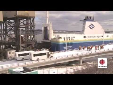 Here and Now 7/31/2013 Marine Atlantic Ferry Coverage