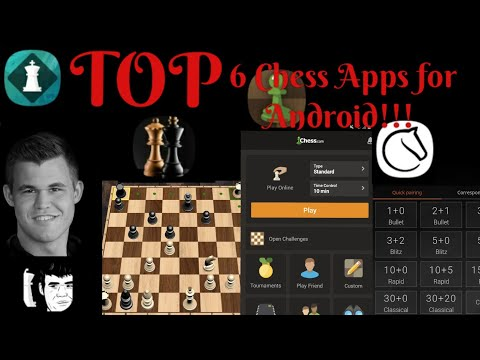 Best 6 Chess Apps For  Android/IOS !!!