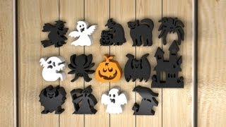 Halloween Scroll Saw Snazzy Spooks