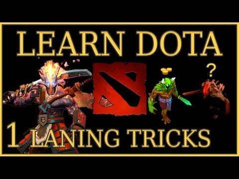 Learn Dota Episode 1: Laning & Last Hit Tricks