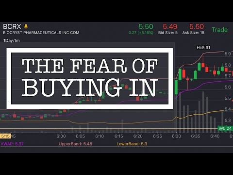 Live Trading: How To Deal With The Fear Of Buying In A Penny Stock