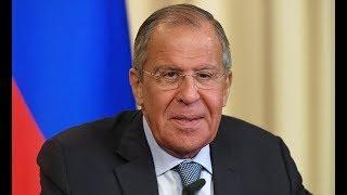 Смотреть видео Пресс-конференция Сергея Лаврова по итогам года. Полное видео онлайн