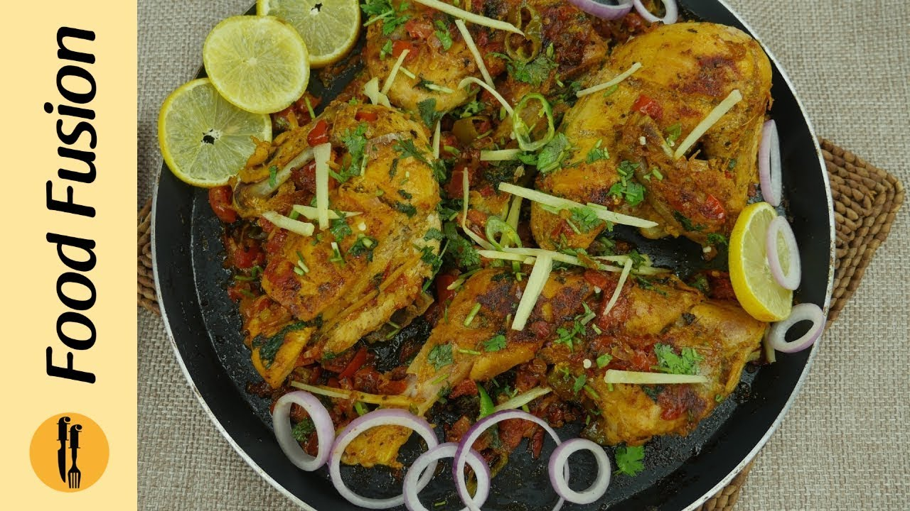 Tawa Chicken Recipe By Food Fusion