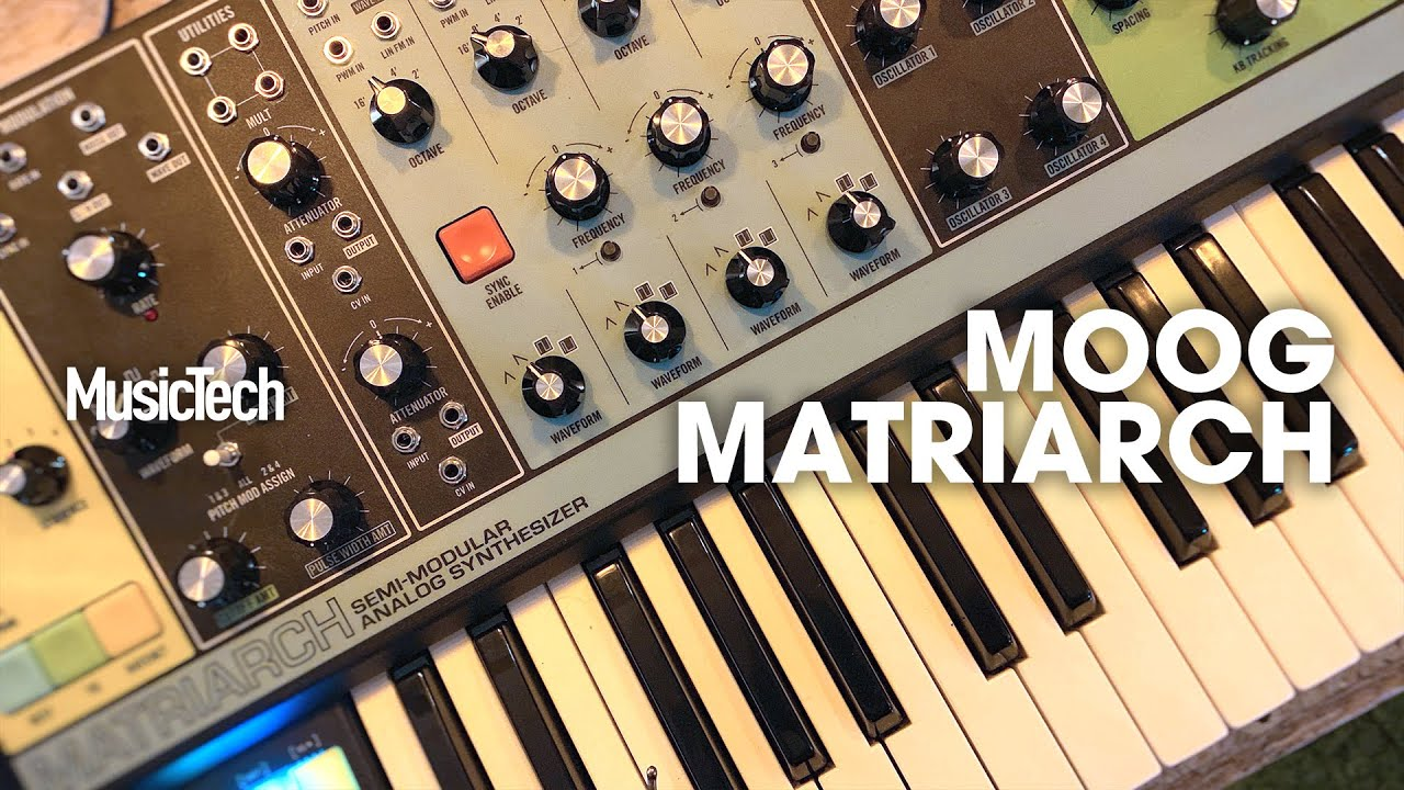 Superbooth 2019: Moog's Matriarch semi-modular, four-note