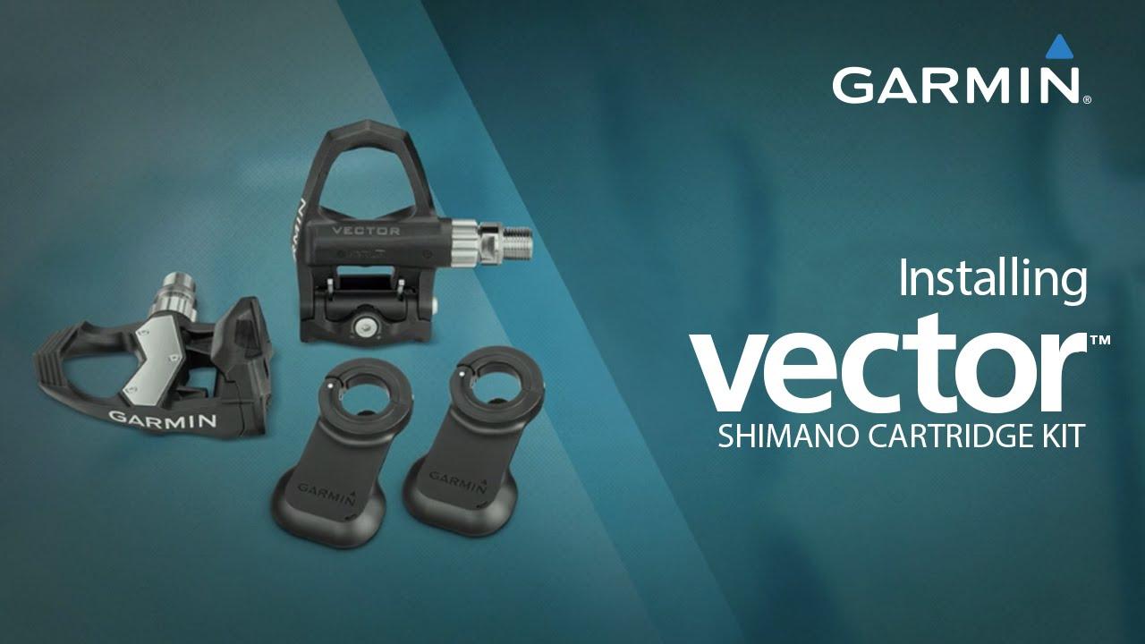 Garmin Vector Cartridge Kit for Shimano Ultegra PD-6800 Pedals