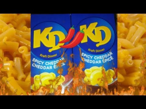SPICY CHEDDAR KRAFT DINNER *REVIEW* thumbnail
